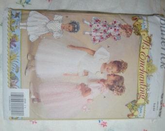 Butterick 6548 Childrens Dress Sewing Pattern - UNCUT- Sizes 5 6 6X
