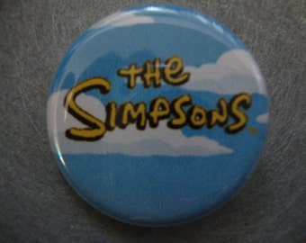 The Simpsons Pinback