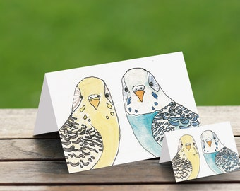 Gift Card Pack ( set 2 ) 1 xA6 and 1 x Small  (7cm x 5 cm)