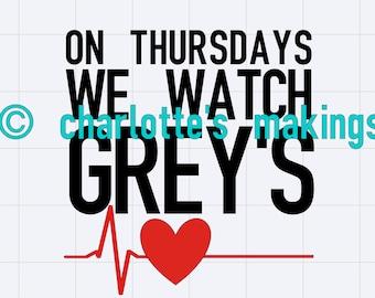 Grey's Anatomy SVG
