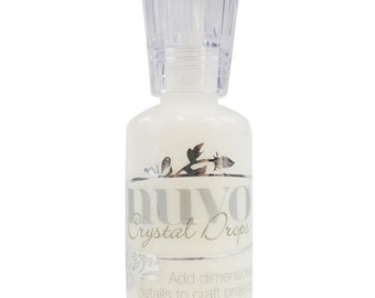 Nuvo Chrystal Drops - White