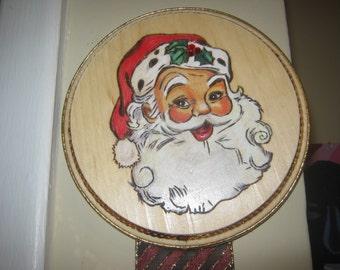 Santa Claus Christmas Card Holder