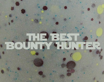 "The Best Bounty Hunter glitter nail polish 15 mL (.5 oz) from the ""You're My Only Hope"" Collection"