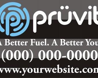 Pruvit Better You Logo Car Decal