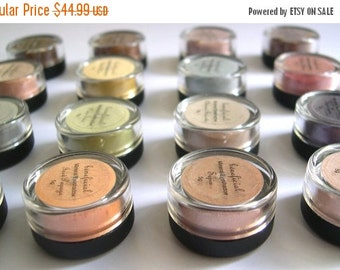 60% OFF - PICK 10 - Eyeshadow Mineral Makeup - FULL 5g Pure Natural Vegan Eye Color