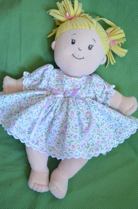 Baby Stella doll clothes dress & bloomersBaby Stella plush