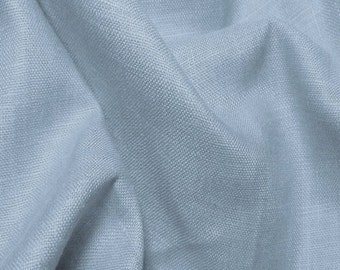 Linen Fabric By the Yard- Light Blue