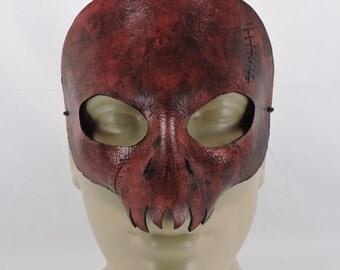Skull Mask - Stitches & Bloody - Tribal Mask