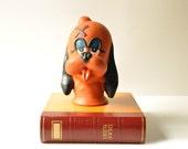 Vintage Rubber Cartoon Dog Desk - Table Lamp - Kids Room - Vintage Night Light