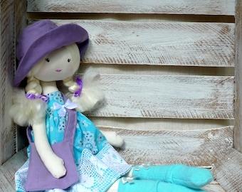 Cloth Rag Doll Handmade Sweet Doll Ballerina Doll Princess Doll