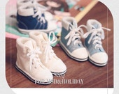 High Top Sneakers for BJD sd / msd / yosd, 5 colors