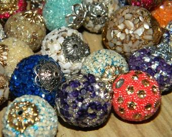 NEW 5/per order Jesse James BOHO ELITE Artisan Mix big bold Beads