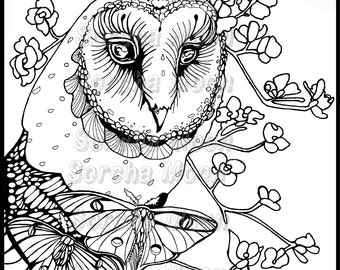 Set of 5 coloring pages