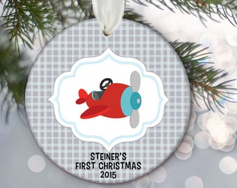 Baby's First Christmas Ornament Personalized Christmas Ornament Babys 1st Ornament Custom Baby Boy Gift Boy Keepsake Design your own OR218