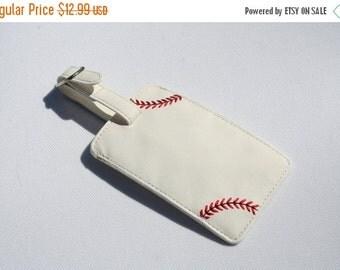 End of Season Baseball Luggage Tag