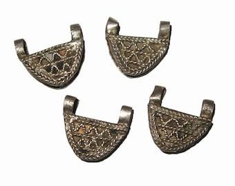 4 Ethiopian Telsum Amulets : Ethiopia African Prayer Box Beads