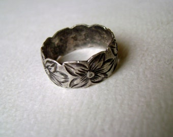traditional hawaiian ring, vintage, size 6