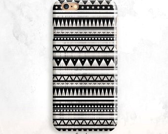 iPhone 6S Case, Black iPhone 5S Case, iPhone SE Case, Geometric iPhone 6 Plus, iPhone 7 Case, Tribal iPhone 6 Case, iPhone 5, Aztec iPhone