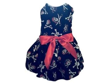 Dog Dress, Black Pirate