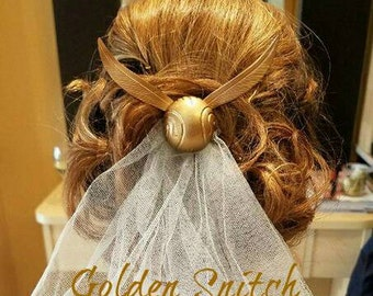 Limited Edition Harry Potter Golden Snitch Hair Comb
