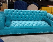 Custom All Over Tufted Sofa non toxic sofa - up for custom sofa order can be made w extra deep bed like seating