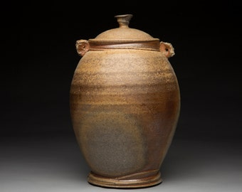 Large Wood Fired Ginger Jar