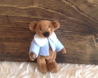 Miniature Collector Bear Justine