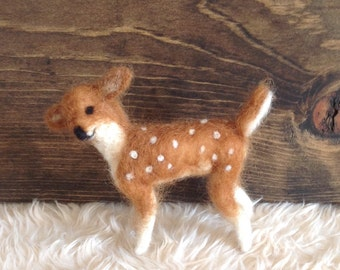 Needlefelted Fawn