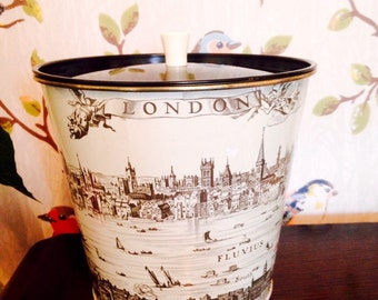 Vintage Tin with Scenes of London