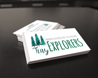 Custom Business Card Designs || Business Cards || Custom Design || Blog Business Cards || Personal Business Cards