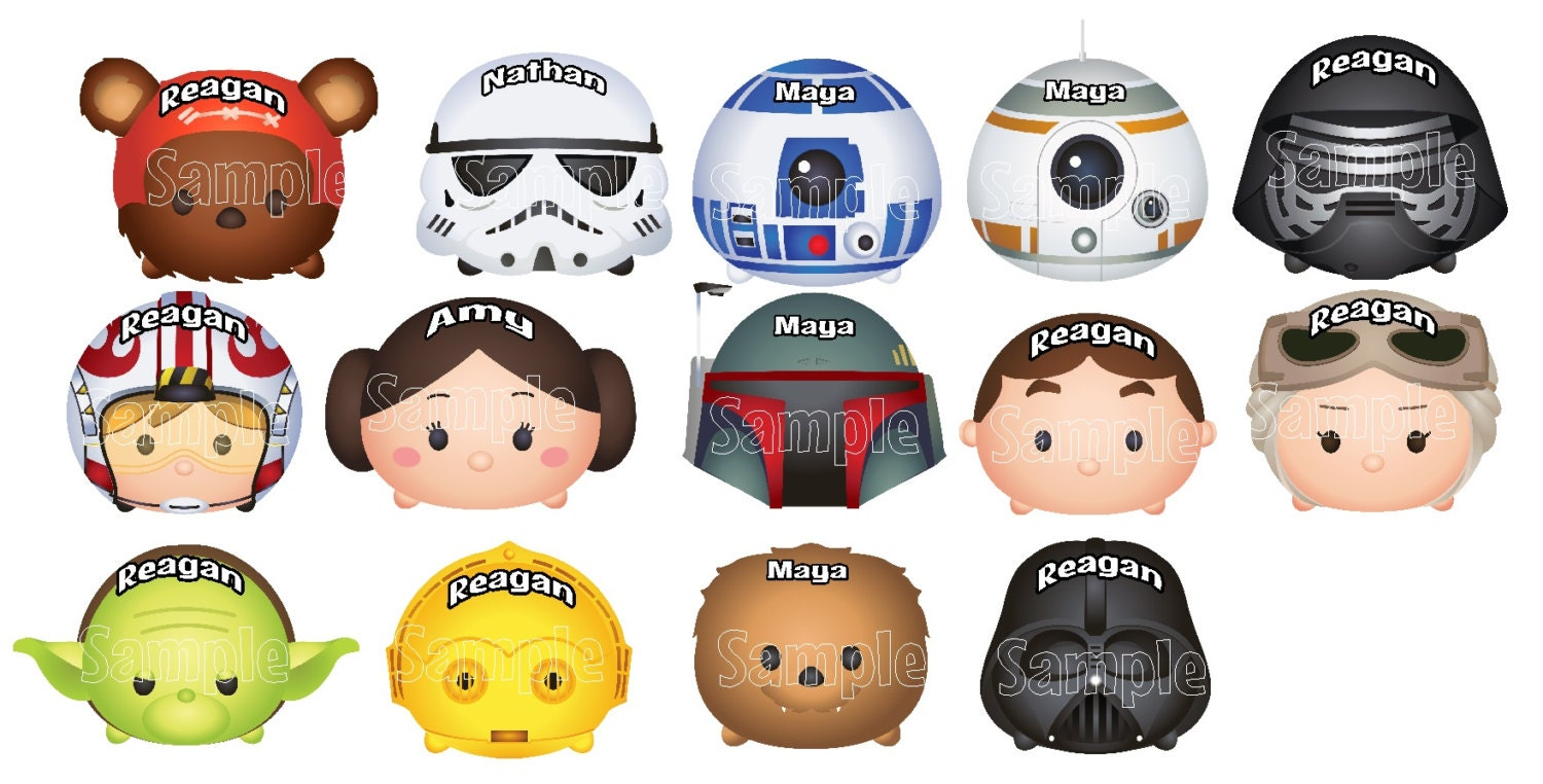 Coloring pages tsum tsum - Mickey Mouse Star Wars Tsum Tsum Disney Cruise Line Name Plate Tag Stateroom Door Magnet Individual