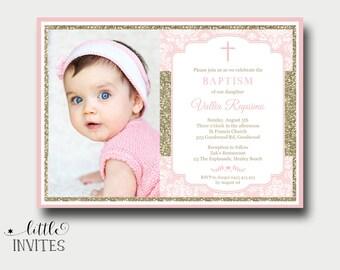 Baptism invitations | Etsy