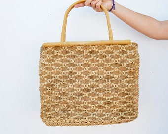 vintage bag Esparto