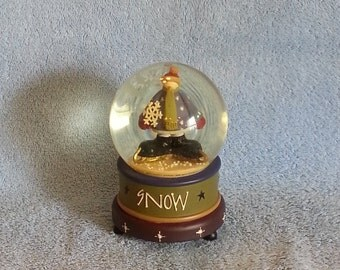Musical Snow Globe - Ice Skating Snowman