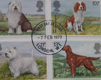 Dogs Post Office First Day Cover