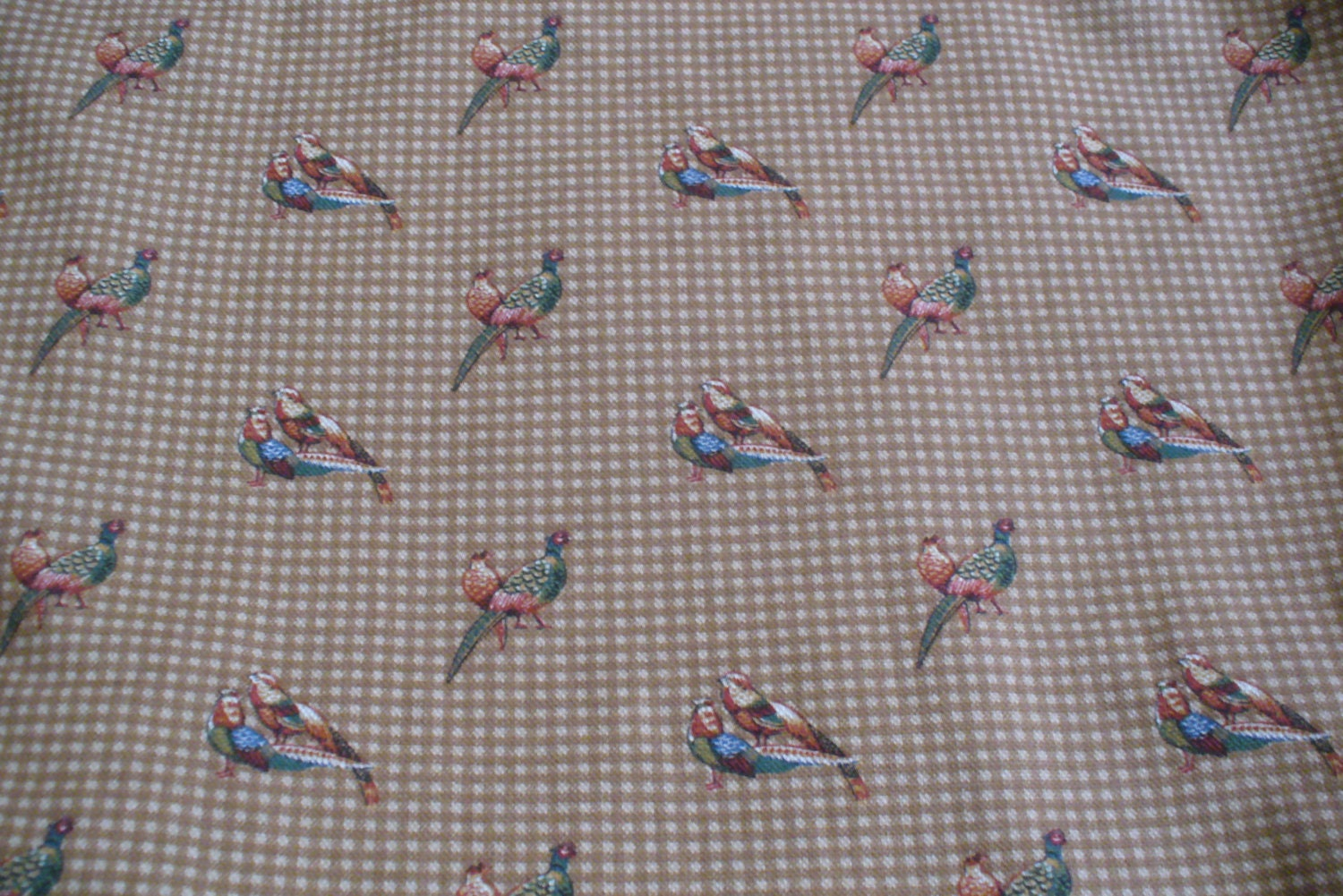 Home Decor Fabrics By The Yard: Fabric By The Yard Home Decor Fabric Drapery Fabric Birds