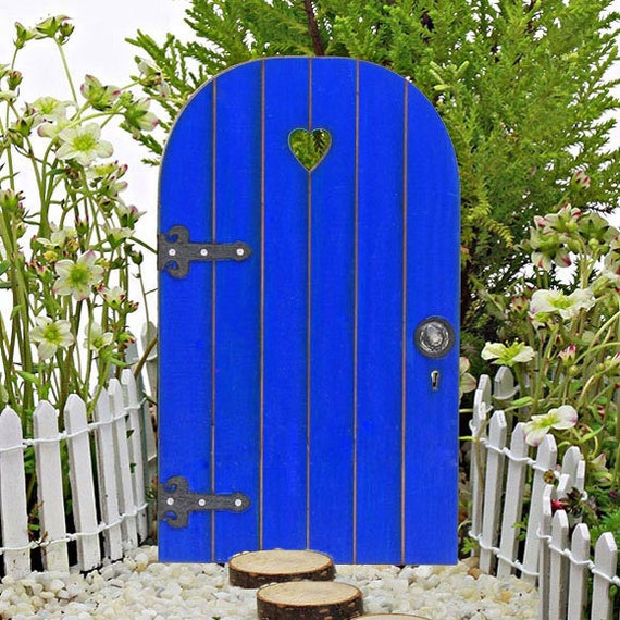 Fairy door comes with tiny key fairy garden miniature for Fairy door with key