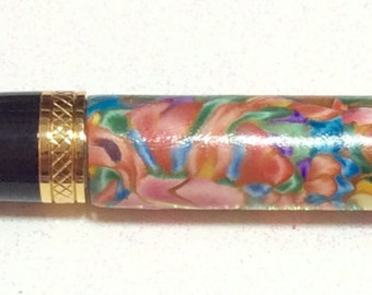 Handmade Polymer Clay Twist Pen