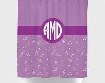 Music Shower Curtain   Etsy