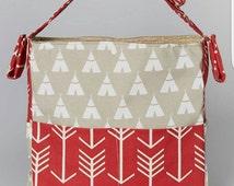 Brownie Gifts 2016 Spring Line!              Natural Teepee Diaper bag,change pad & dirty duds wet bag