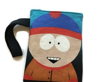 South Park Bag • Upcycled Tee Shirt Bag • Stan South Park • Clutch