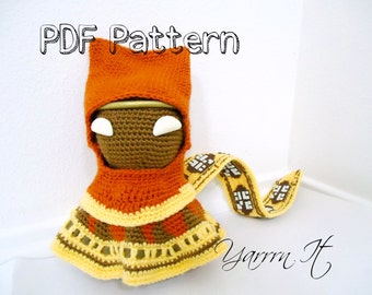 Journey Sackboy Amigurumi PDF Pattern
