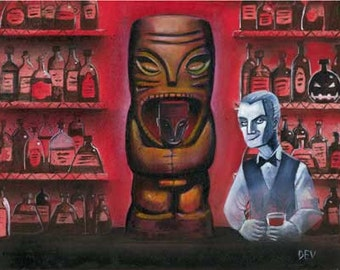 Cannibals Triptych (fine art print)