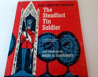 The Steadfast Tin Soldier - Woodcuts by Robert Quackenbush - 1964