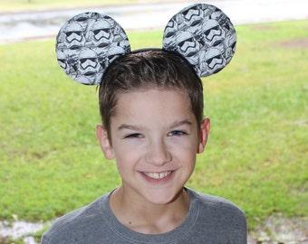 ON SALE! Storm Trooper Ears (no bow)