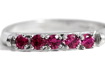 925 Silver Spinel Ring