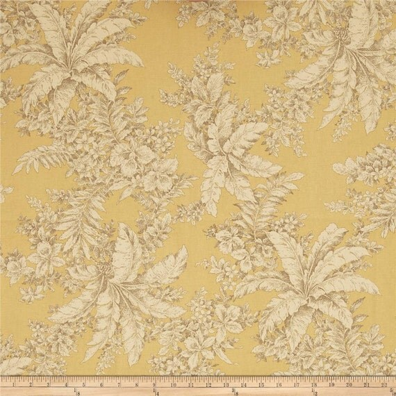 Bellingrath barley classic cotton fabric by the yard magnolia for Bellingrath coupons
