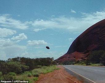 Unusual Power Object found at Australian UFO site Aliens