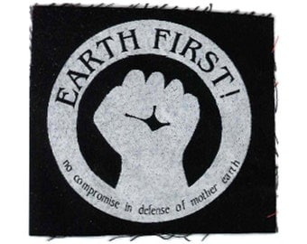 Earth First Patch