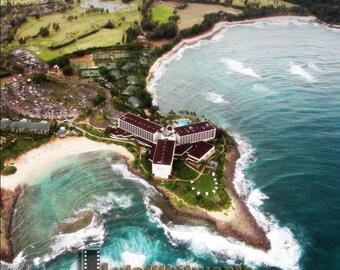 Hawaii From The Sky : 11x14 Print